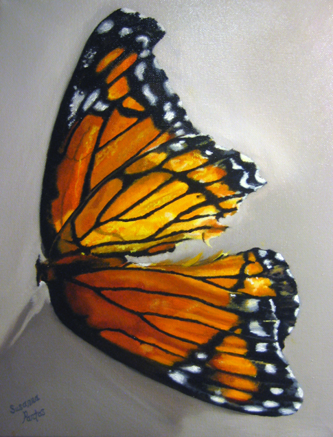 Contemplation: Monarch Dream by Susanna Pantas